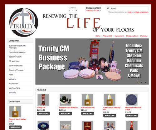 Portfolio: Trinity Renewal Systems Store