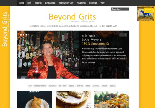 Portfolio: Beyond Grits