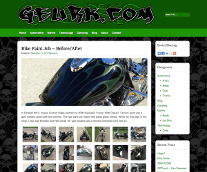 Geurk's Personal Website