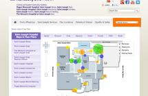 Saint Joseph/KentuckyOne Campus Maps