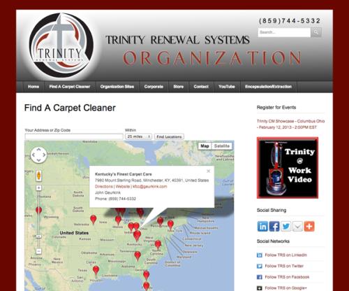 Portfolio: Trinity Renewal Systems Organization