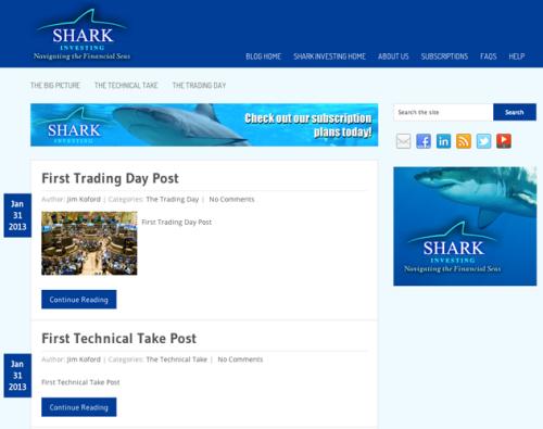 Portfolio: Shark Investing Blog